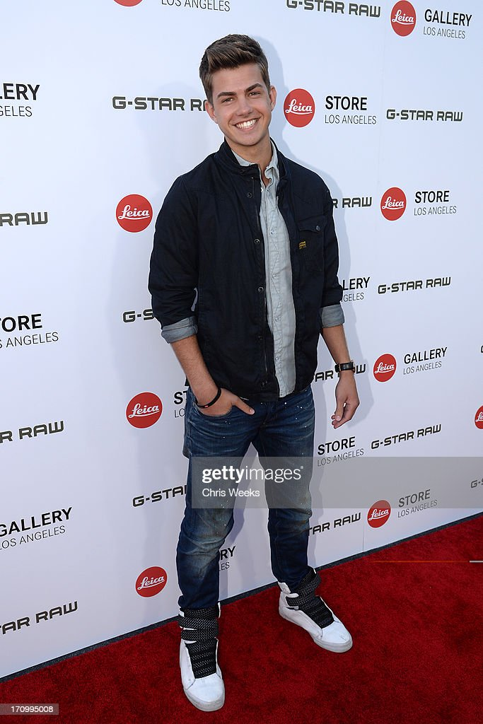 Actor Cameron Palatas in G-Star attends G-Star RAW unveils RAW Leica at the Leica store opening on June 20, 2013 in West Hollywood, California.