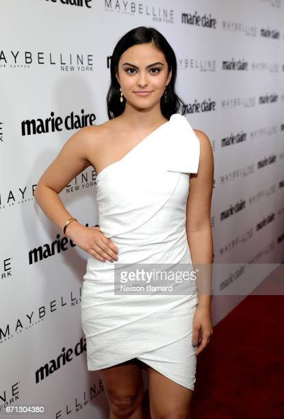 Actor Camila Mendes attends Marie Claire's 'Fresh Faces' celebration with an event sponsored by Maybelline at Doheny Room on April 21 2017 in West...