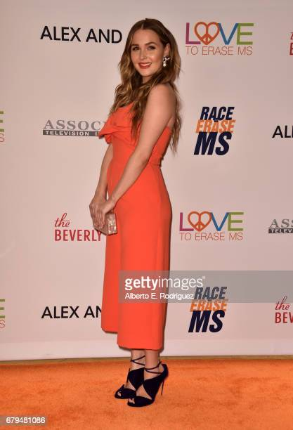 Actor Camilla Luddington attends the 24th Annual Race To Erase MS Gala at The Beverly Hilton Hotel on May 5 2017 in Beverly Hills California