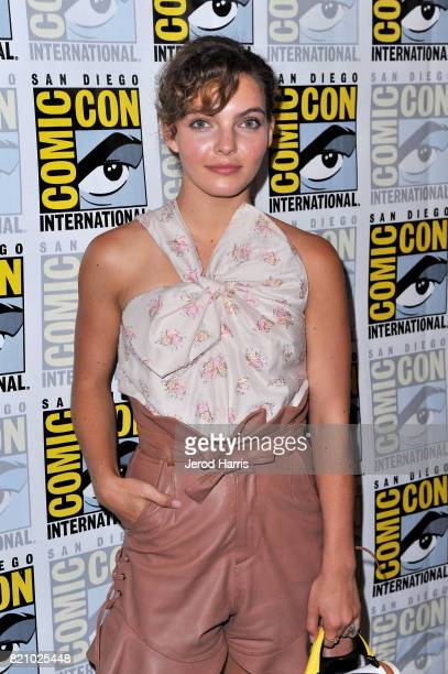 Actor Camren Bicondova at the 'Gotham' Press Line during ComicCon International 2017 at Hilton Bayfront on July 22 2017 in San Diego California