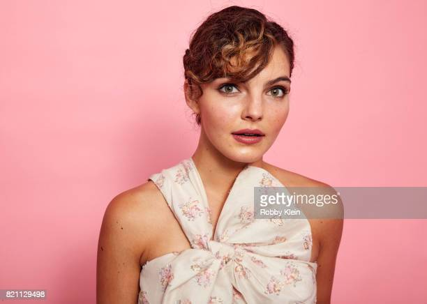 Actor Camren Bicondova from FOX's 'Gotham' poses for a portrait during ComicCon 2017 at Hard Rock Hotel San Diego on July 22 2017 in San Diego...