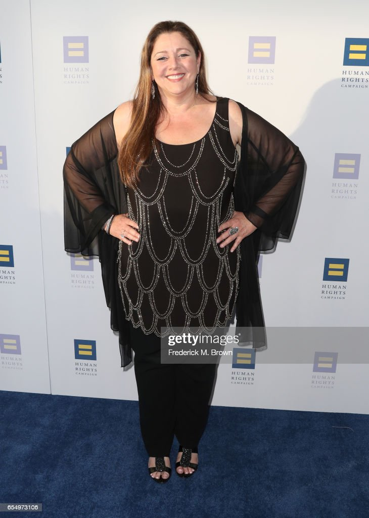 Actor Camryn Manheim at The Human Rights Campaign 2017 Los Angeles Gala Dinner at JW Marriott Los Angeles at L.A. LIVE on March 18, 2017 in Los Angeles, California.