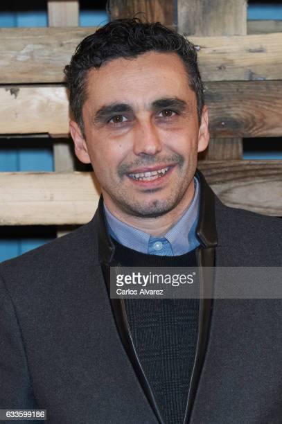 Actor Canco Rodriguez attends 'Naked' opening party on February 2 2017 in Madrid Spain