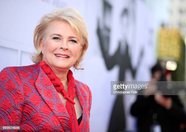 Actor Candice Bergen arrives at American Film Institute's 45th Life Achievement Award Gala Tribute to Diane Keaton at Dolby Theatre on June 8 2017 in...