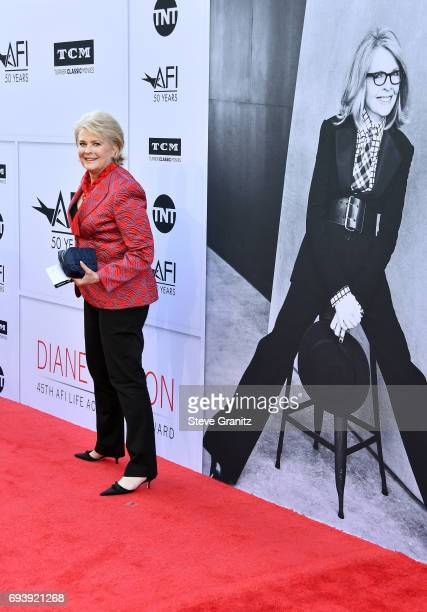 Actor Candice Bergen arrives at the AFI Life Achievement Award Gala Tribute to Diane Keaton at Dolby Theatre on June 8 2017 in Hollywood California