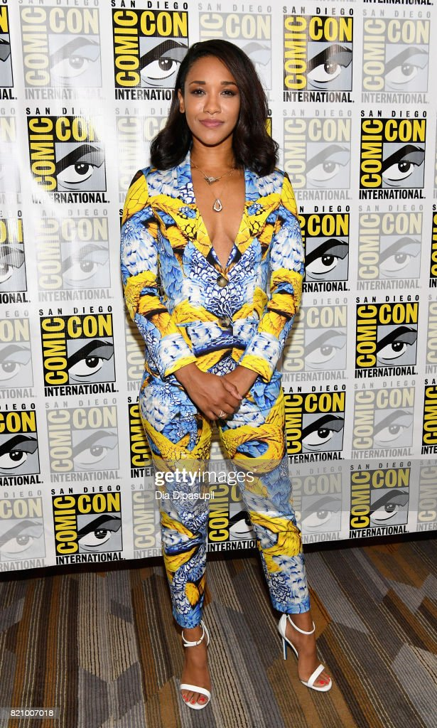 Actor Candice Patton at 'The Flash' Press Line during Comic-Con International 2017 at Hilton Bayfront on July 22, 2017 in San Diego, California.