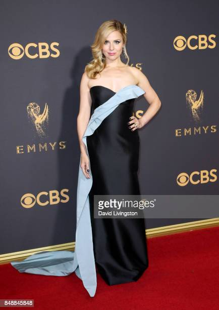 Actor Cara Buono attends the 69th Annual Primetime Emmy Awards Arrivals at Microsoft Theater on September 17 2017 in Los Angeles California