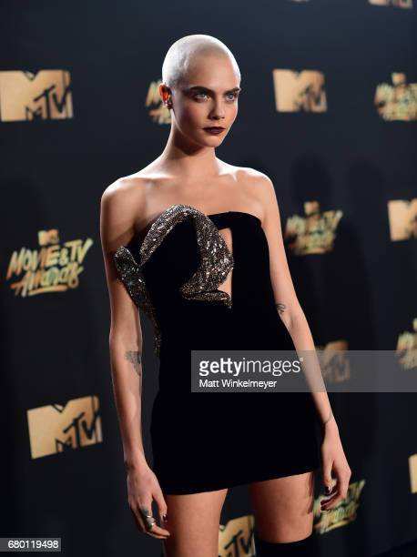 Actor Cara Delevingne attends the 2017 MTV Movie And TV Awards at The Shrine Auditorium on May 7 2017 in Los Angeles California