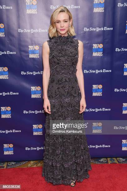 Actor Carey Mulligan attends IFP's 27th Annual Gotham Independent Film Awards on November 27 2017 in New York City
