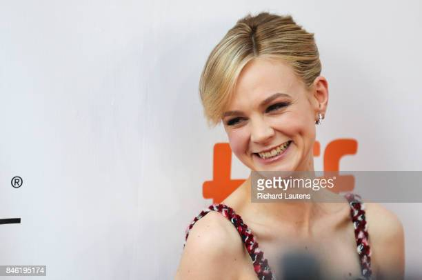 TORONTO ON SEPTEMBER 12 Actor Carey Mulligan on the red carpet MUDBOUND had a showing at Roy Thomson Hall for TIFF On the red carpet the expected...