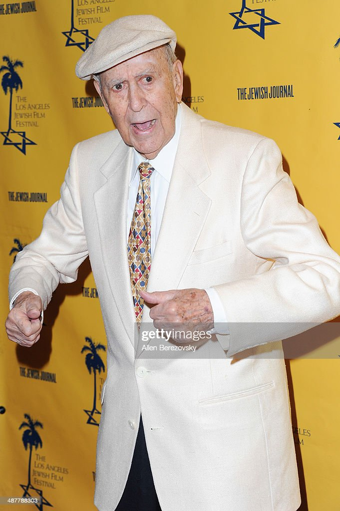 Actor <a gi-track='captionPersonalityLinkClicked' href=/galleries/search?phrase=Carl+Reiner&family=editorial&specificpeople=660635 ng-click='$event.stopPropagation()'>Carl Reiner</a> arrives at the 9th Annual Los Angeles Jewish Film Festival Opening Night Gala at Saban Theatre on May 1, 2014 in Beverly Hills, California.
