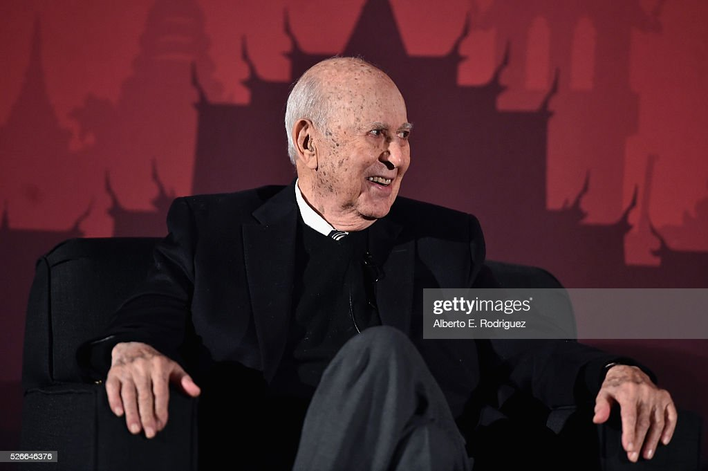 Actor Carl Reiner speaks onstage during 'An Afternoon with Carl Reiner - Dead Men Don't Wear Plaid' during day 3 of the TCM Classic Film Festival 2016 on April 30, 2016 in Los Angeles, California. 25826_006