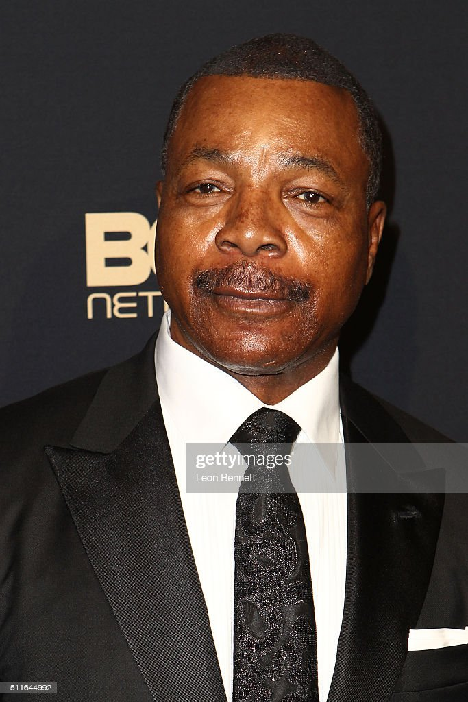 Actor <a gi-track='captionPersonalityLinkClicked' href=/galleries/search?phrase=Carl+Weathers&family=editorial&specificpeople=791982 ng-click='$event.stopPropagation()'>Carl Weathers</a> arrived to the 2016 American Black Film Festival Awards Gala - Arrivals at The Beverly Hilton Hotel on February 21, 2016 in Beverly Hills, California.