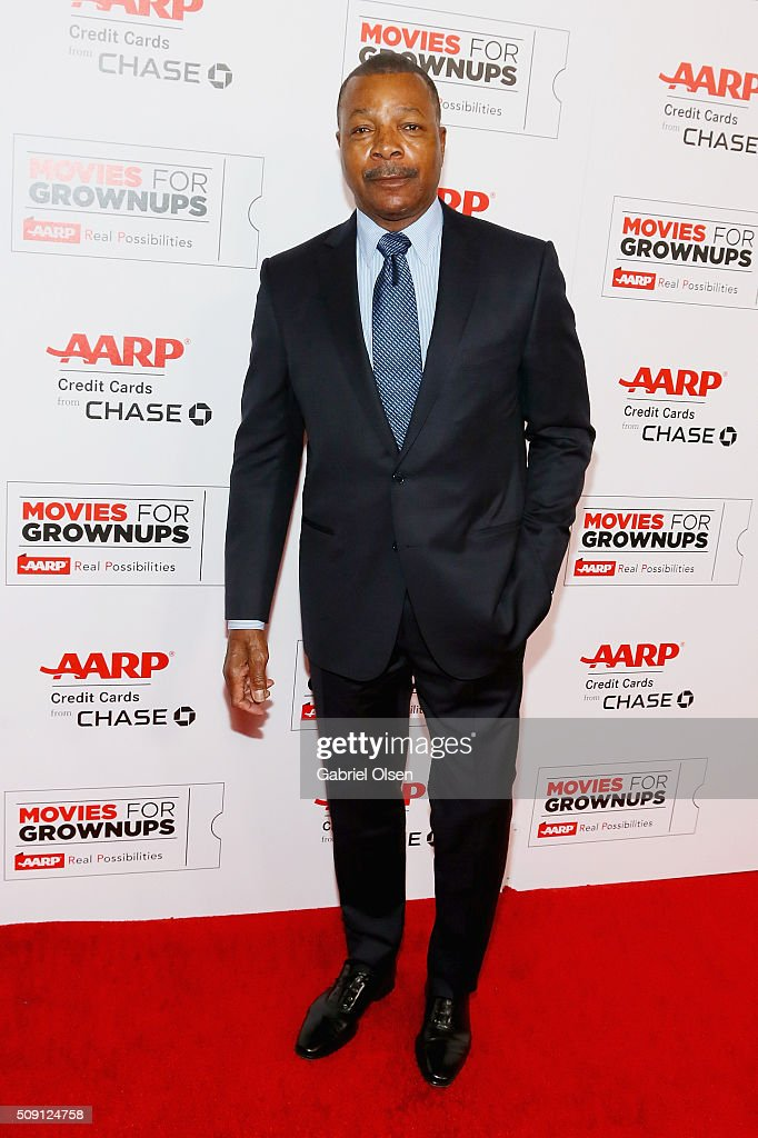 Actor <a gi-track='captionPersonalityLinkClicked' href=/galleries/search?phrase=Carl+Weathers&family=editorial&specificpeople=791982 ng-click='$event.stopPropagation()'>Carl Weathers</a> attends AARP's Movie For GrownUps Awards at the Beverly Wilshire Four Seasons Hotel on February 8, 2016 in Beverly Hills, California.