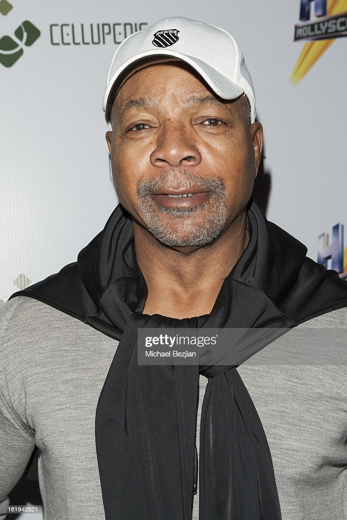 Actor <a gi-track='captionPersonalityLinkClicked' href=/galleries/search?phrase=Carl+Weathers&family=editorial&specificpeople=791982 ng-click='$event.stopPropagation()'>Carl Weathers</a> attends Save a Friend's Life Celebrity Poker Tournament and Roaring 20's Party hosted by Joanna Krupa at Next Door Lounge on February 17, 2013 in Hollywood, California.
