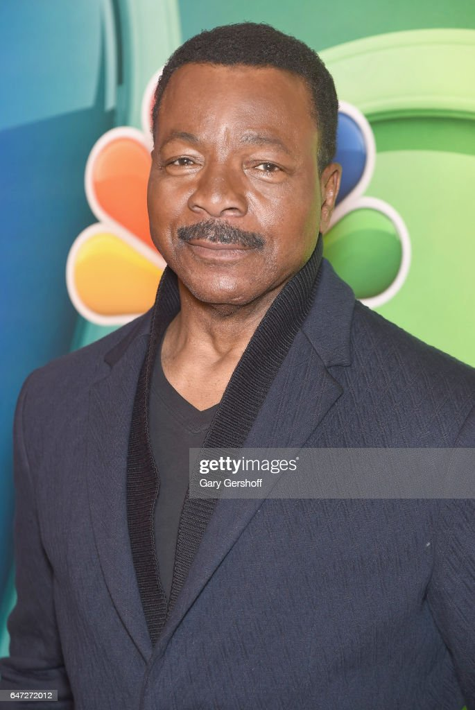 Actor Carl Weathers attends the NBCUniversal Press Junket at the Four Seasons Hotel New York on March 2, 2017 in New York City.