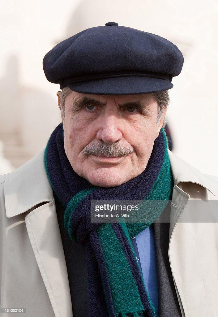 Actor Carlo Giuffre attends the 2009 Vittorio De Sica Awards at Quirinale on November 9, 2009 in Rome, Italy.