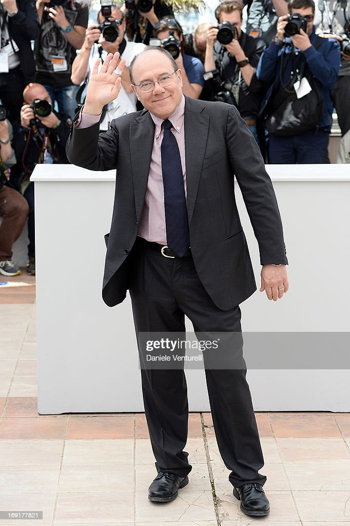 Actor <a gi-track='captionPersonalityLinkClicked' href=/galleries/search?phrase=Carlo+Verdone&family=editorial&specificpeople=676917 ng-click='$event.stopPropagation()'>Carlo Verdone</a> attends the photocall for 'La Grande Bellezza' (The Great Beauty) during the 66th Annual Cannes Film Festival at Palais des Festivals on May 21, 2013 in Cannes, France.