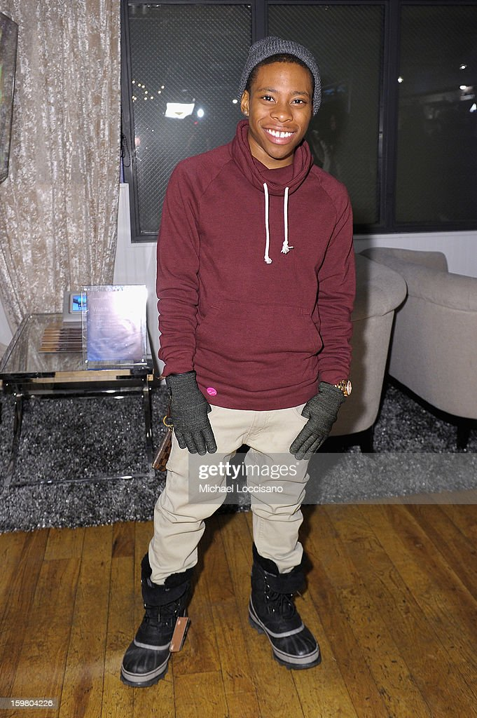 Actor Carlon Jeffery attends Day 3 of Samsung Galaxy Lounge at Village At The Lift 2013 on January 20, 2013 in Park City, Utah.