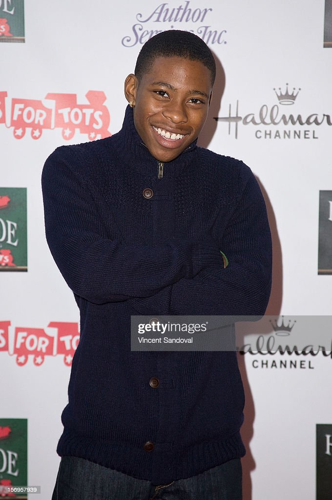 Actor Carlon Jeffery attends the 2012 Hollywood Christmas Parade Benefiting Marine Toys For Tots on November 25, 2012 in Los Angeles, California.