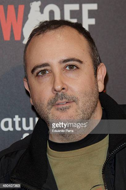 Actor Carlos Areces attends Madrid Premiere Week party photocall at Callao cinema on November 18 2013 in Madrid Spain