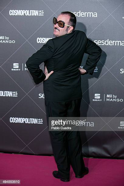 Actor Carlos Areces attends VIII Cosmopolitan Fun Fearless Female Awards at Ritz hotel on October 27 2015 in Madrid Spain