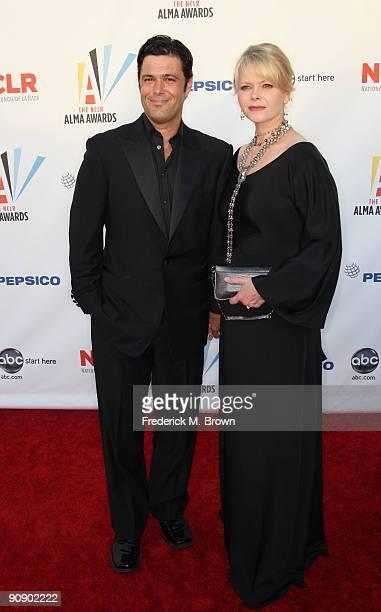 Actor Carlos Bernard and wife Sharisse BakerBernard arrives at the 2009 ALMA Awards held at Royce Hall on September 17 2009 in Los Angeles California