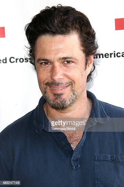 Actor Carlos Bernard attends the Inaugural American Red Cross Celebrity Golf Classic held at the Lakeside Golf Club on April 7 2014 in Toluca Lake...