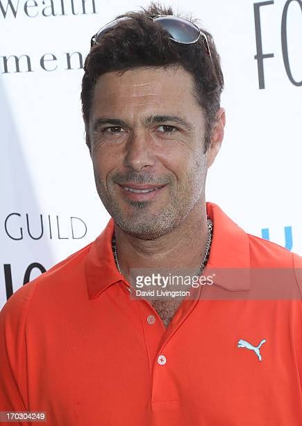 Actor Carlos Bernard attends the Screen Actors Guild Foundation 4th Annual Los Angeles Golf Classic at Lakeside Golf Club on June 10 2013 in Burbank...