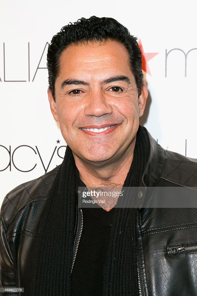 Actor Carlos Gomez arrives as Macy's honors Latin superstar Thalia at Sunset Tower on December 5, 2013 in West Hollywood, California.