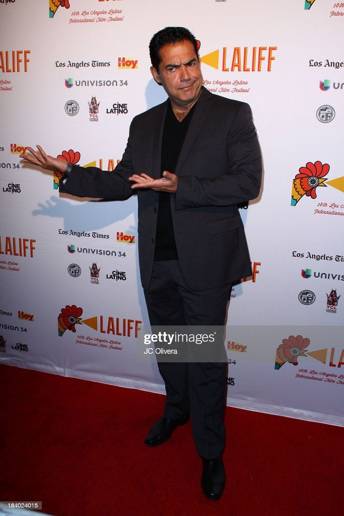 Actor Carlos Gomez attends The 2013 Los Angeles Latino International Film Festival - Opening Night Gala Premiere of 'Pablo' at the El Capitan Theatre on October 10, 2013 in Hollywood, California.