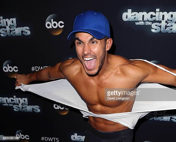 Actor Carlos PenaVega attends 'Dancing with the Stars' Season 21 at CBS Television City on October 19 2015 in Los Angeles California