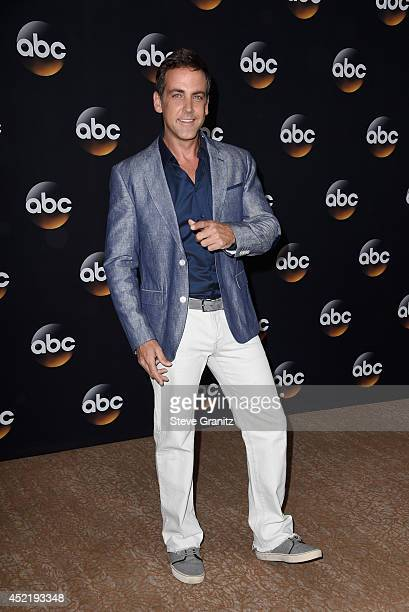 Actor Carlos Ponce attends the Disney/ABC Television Group 2014 Television Critics Association Summer Press Tour at The Beverly Hilton Hotel on July...