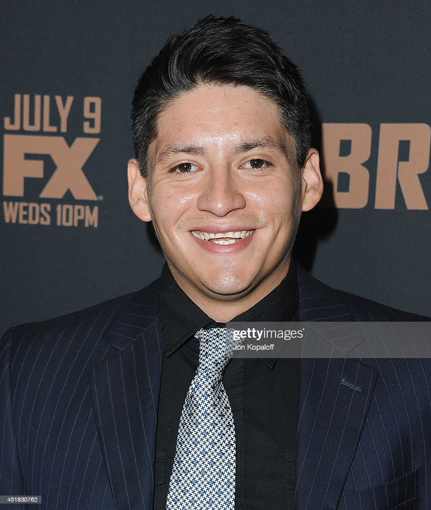 Actor Carlos Pratts arrives at the FX's 'The Bridge' Season 2 Premiere at Pacific Design Center on July 7, 2014 in West Hollywood, California.