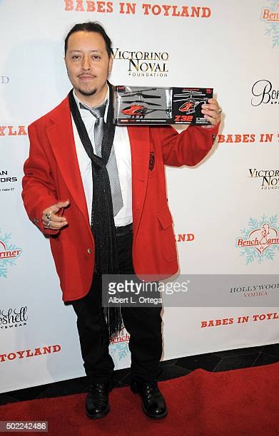 Actor Carlos Ramirez arrives for the 2015 Babes In Toyland And BenchWarmer Charity Toy Drive held at Avalon on December 9 2015 in Hollywood California