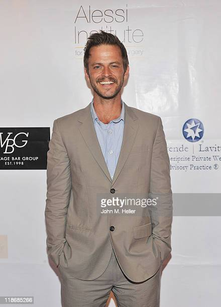 Actor Carmine Giovinazzo arrives at the 2nd Annual Face Forward Gala For A New Beginning at the Intercontinental Hotel on July 9 2011 in Los Angeles...