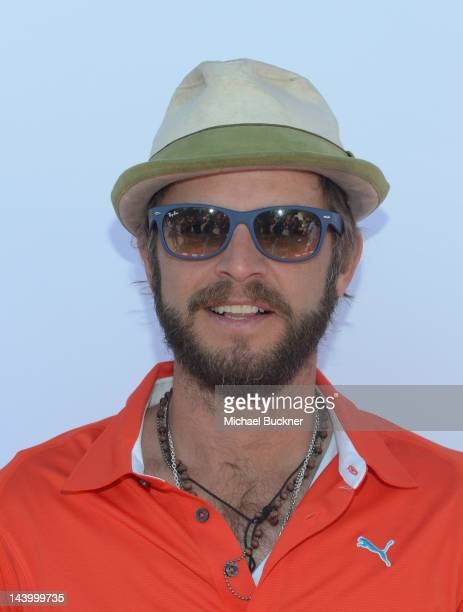 Actor Carmine Giovinazzo attends the 5th Annual George Lopez Celebrity Golf Classic to Benefit The Lopez Foundation at Lakeside Golf Club on May 7...