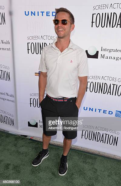 Actor Carmine Giovinazzo attends the Screen Actor's Guild Foundation's 5th Annual 'Actors Fore Actors' Los Angeles Golf Classic at Lakeside Golf Club...