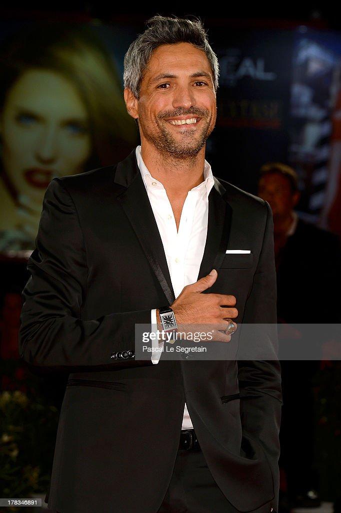 Actor Carmine Maringola attends the 'Via Castellana Bandiera' premiere during the 70th Venice International Film Festival at the Palazzo del Cinema on August 29, 2013 in Venice, Italy.