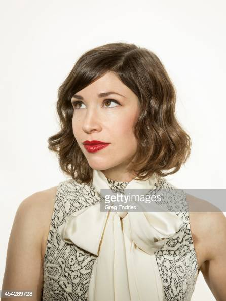 Actor Carrie Brownstein is photographed for Emmy Magazine on February 27 in New York City
