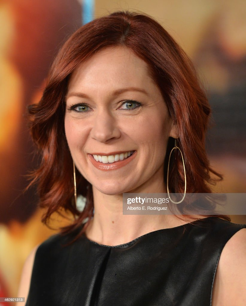 Actor <a gi-track='captionPersonalityLinkClicked' href=/galleries/search?phrase=Carrie+Preston&family=editorial&specificpeople=2220324 ng-click='$event.stopPropagation()'>Carrie Preston</a> arrives to the premiere of HBO's 'Looking' at Paramount Theater on the Paramount Studios lot on January 15, 2014 in Hollywood, California.