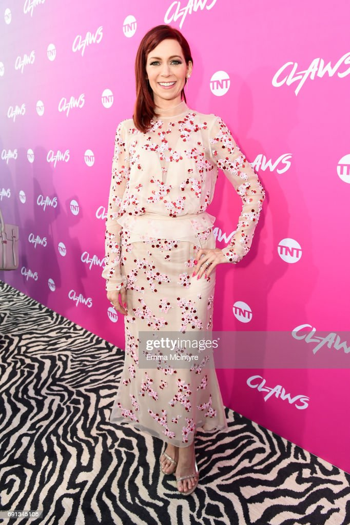 Actor Carrie Preston attends the premiere of TNT's 'Claws' at Harmony Gold Theatre on June 1, 2017 in Los Angeles, California. 27059_001