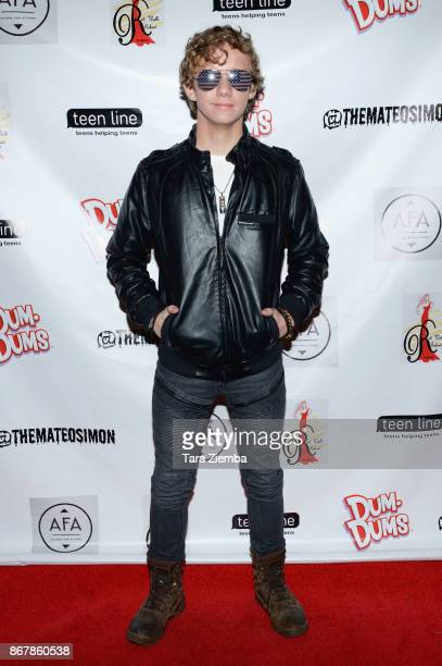 Actor Carsen Warner attends Mateo Simon's Halloween Charity Event on October 28 2017 in Burbank California