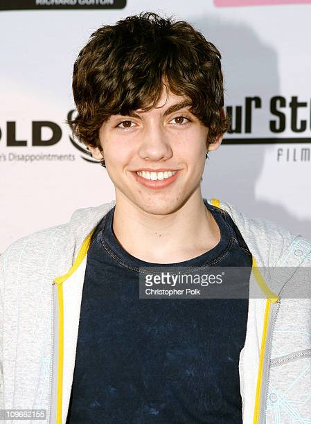 Actor Carter Jenkins arrives at the Hollywood launch of PlatinumLoungecom at The Globe Theatre on July 7 2007 in Los Angeles California