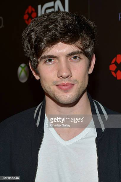 Actor Carter Jenkins attends IGN and Capcom's party celebrating the launch of Resident Evil 6 at Lure on September 28 2012 in Hollywood California