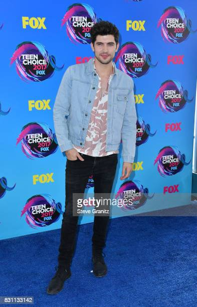 Actor Carter Jenkins attends the Teen Choice Awards 2017 at Galen Center on August 13 2017 in Los Angeles California