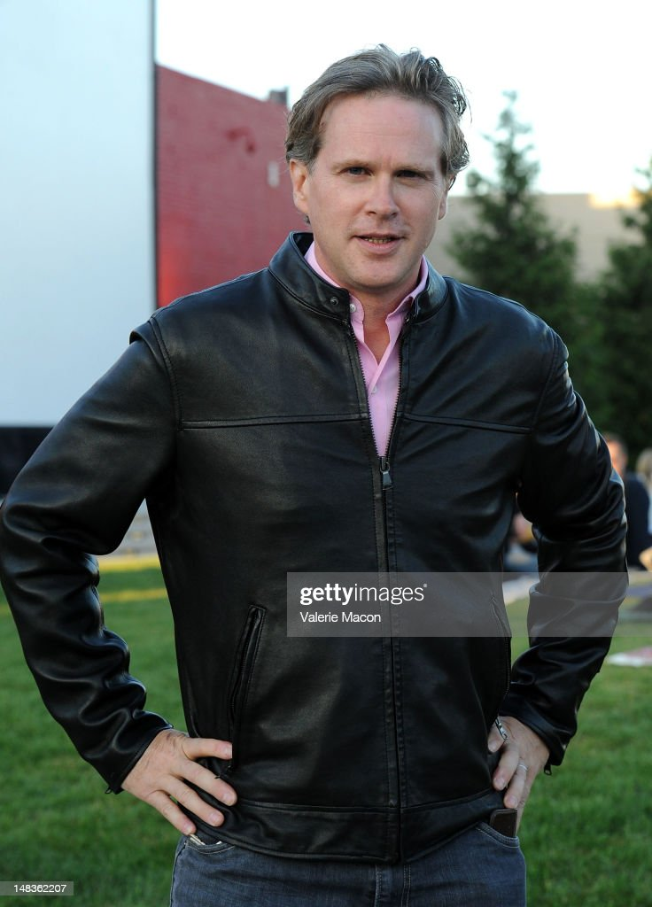 Actor Cary Elwes attends The Academy Of Motion Picture Arts And Sciences' Oscars outdoors screening of 'The Princess Bride' on July 14 2012 in...