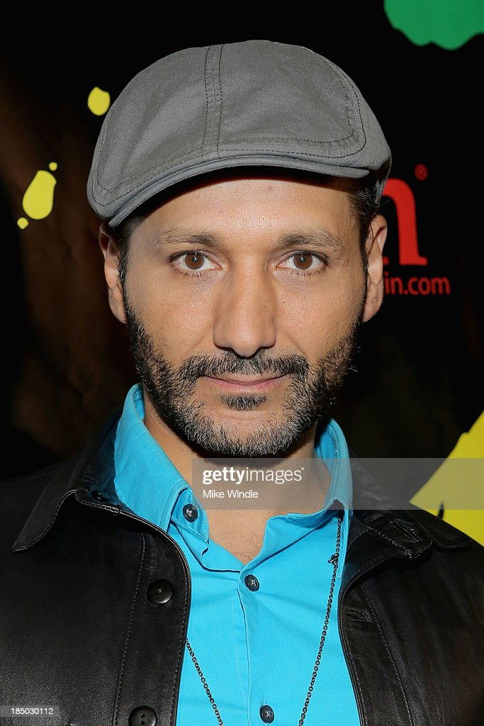 Actor <a gi-track='captionPersonalityLinkClicked' href=/galleries/search?phrase=Cas+Anvar&family=editorial&specificpeople=3139960 ng-click='$event.stopPropagation()'>Cas Anvar</a> arrives at iiJin's Spring/Summer 2014 'The Glamorous Life' clothing and footwear collection fashion show at Avalon on October 16, 2013 in Hollywood, California.