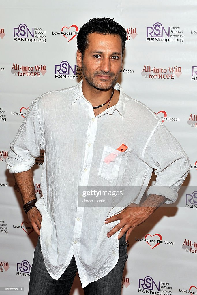 Actor <a gi-track='captionPersonalityLinkClicked' href=/galleries/search?phrase=Cas+Anvar&family=editorial&specificpeople=3139960 ng-click='$event.stopPropagation()'>Cas Anvar</a> arrives at 'In To Win For Hope' No Limit Texas Hold'em Celebrity Charity Poker Tournament at Commerce Casino on October 6, 2012 in City of Commerce, California.