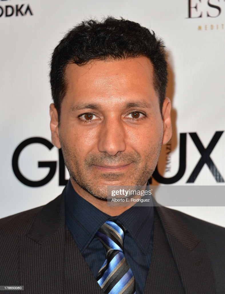 Actor Cas Anvar arrives to Genlux Magazine's Issue Release party featuring Erika Christensen at The Sofitel Hotel on August 29, 2013 in Los Angeles, California.